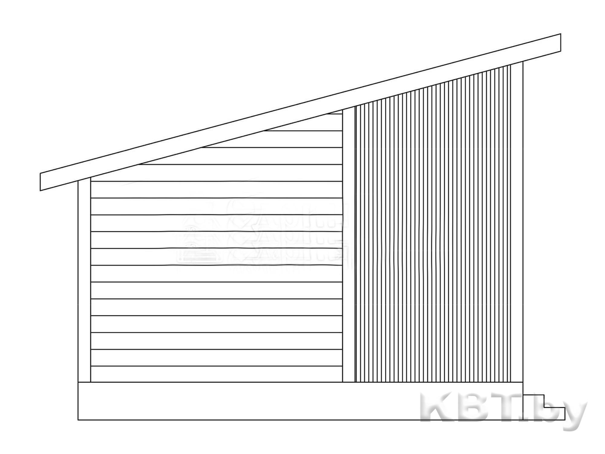 Проект дачного дома М-04