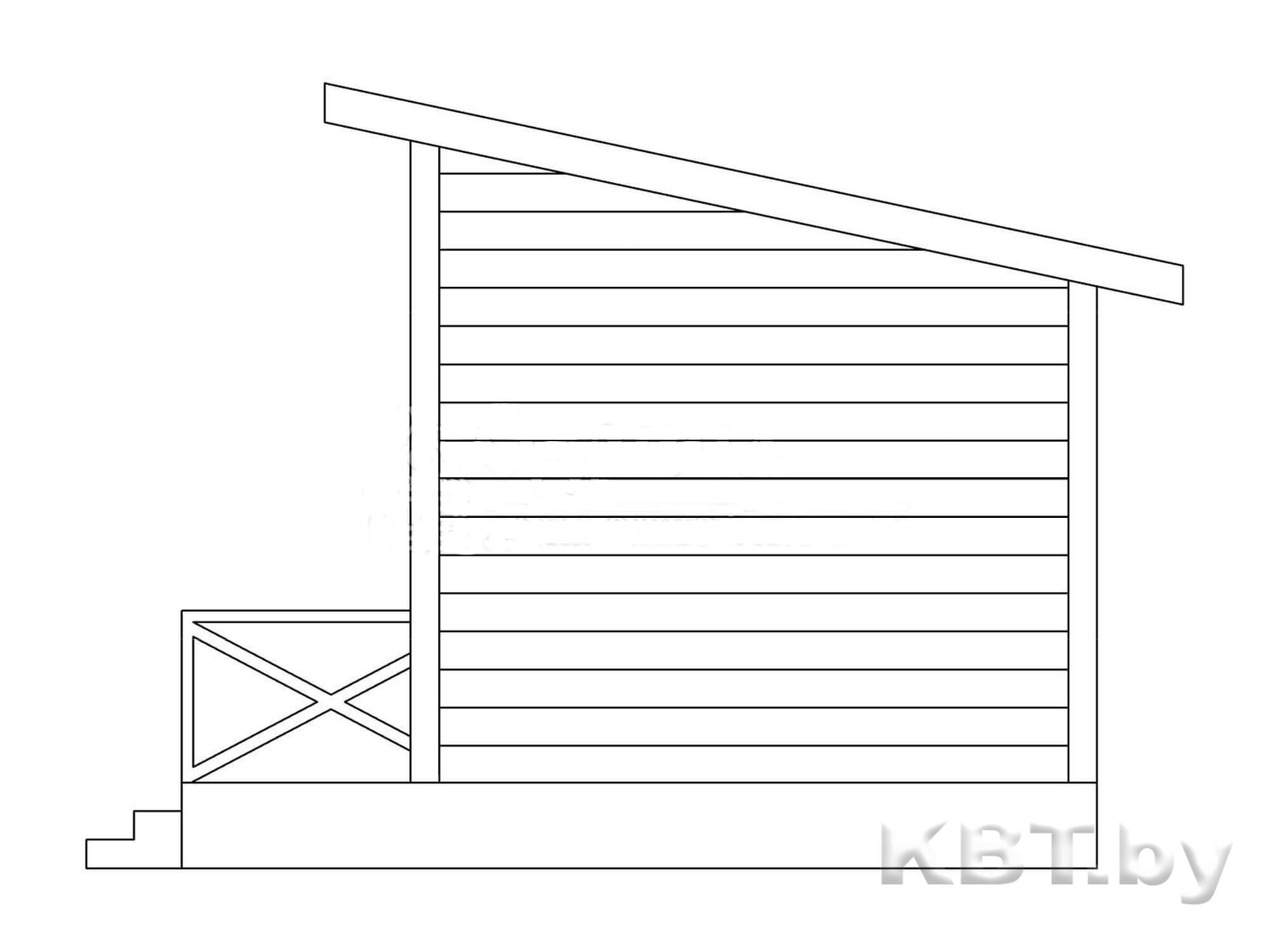 Проект дачного дома М-06