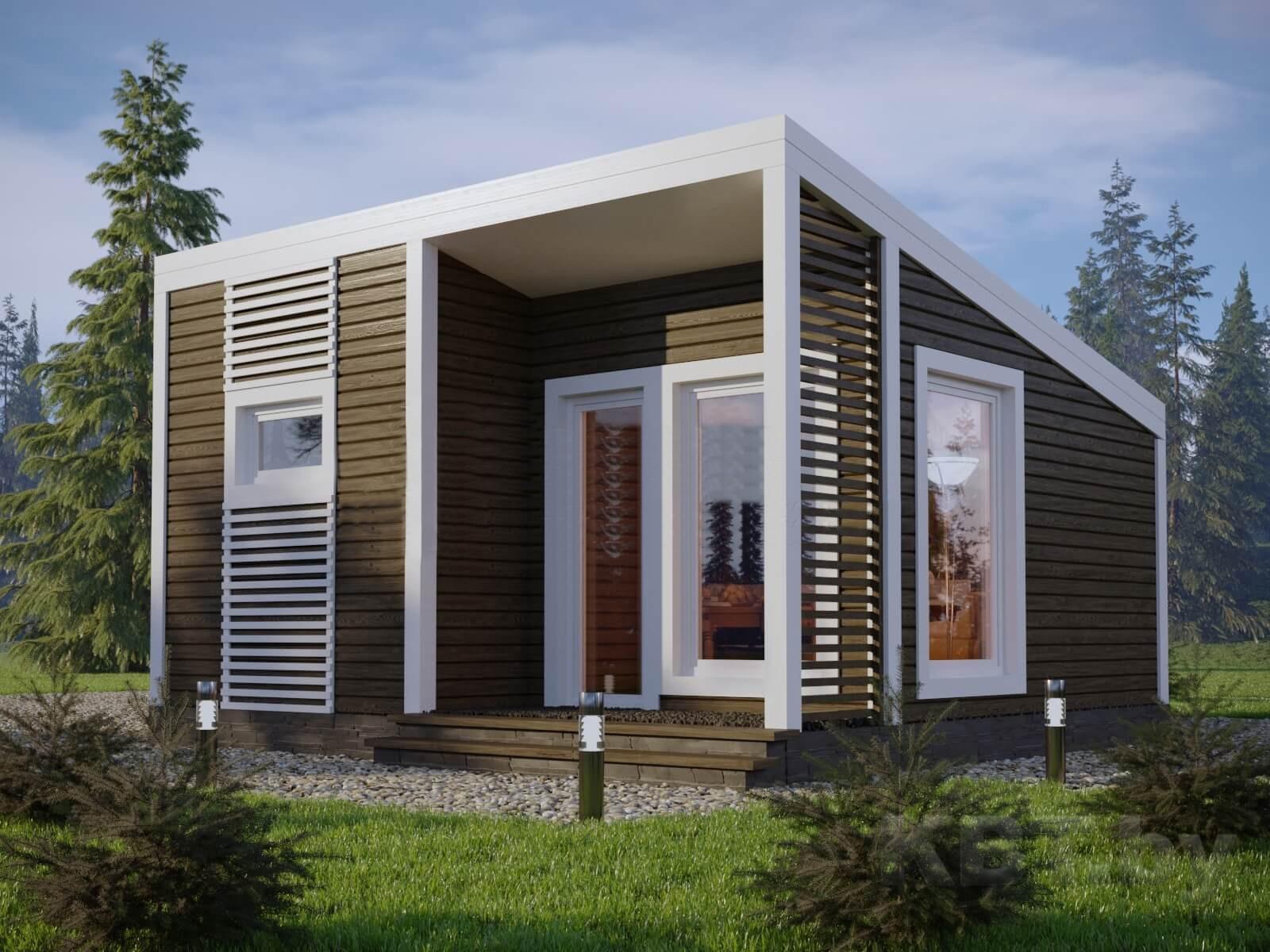 Проект дачного дома М-09